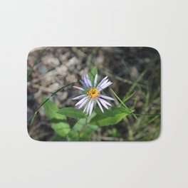 Arctic Aster in the Summertime Bath Mat