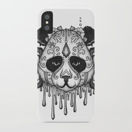 Blacksilver Panda Spirit iPhone Case
