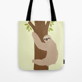 Hang In There Sloth Tote Bag