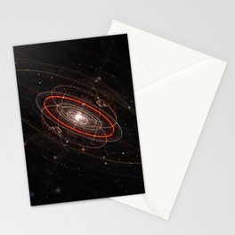Space & Particles - GodEye 02 Stationery Cards