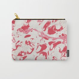 Red Bloody Watercolor paint Carry-All Pouch