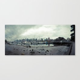 Vancouver Panorama 1 Canvas Print