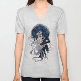 The Sun, the Moon and the Star Unisex V-Neck