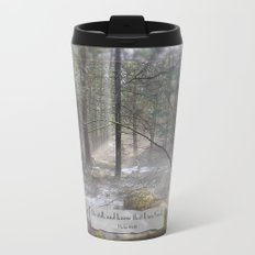Still Woods Metal Travel Mug
