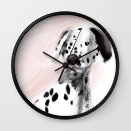 Dannie Pink Wall Clock