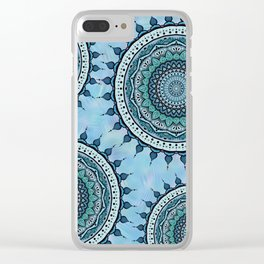 Mandala Tranquillità Clear iPhone Case