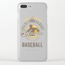 Baseball Classic Clear iPhone Case