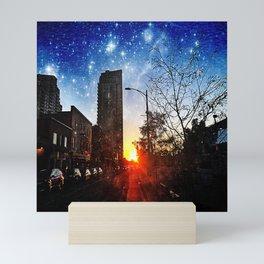 Mystical Sunset Mini Art Print