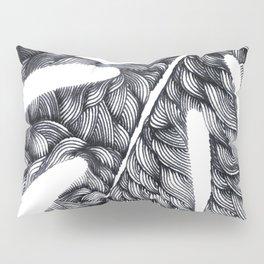 Line Monstera Pillow Sham