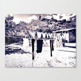 Clothsline Canvas Print