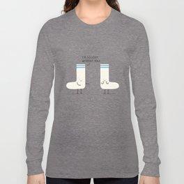socks love Long Sleeve T-shirt