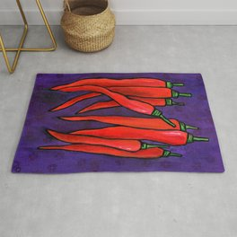 Chili Peppers Rug