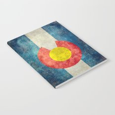 Coloradan State Flag Notebook