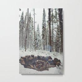 Morning Fire Metal Print