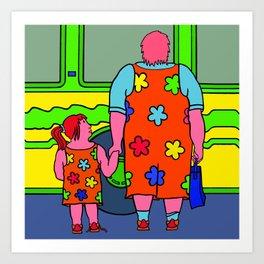 Miss Bridget Art Print