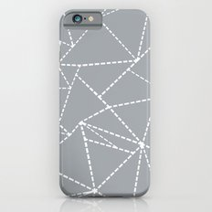Abstract Dotted Lines Grey iPhone 6s Slim Case