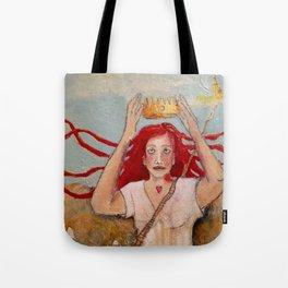 Crowning Herself Tote Bag