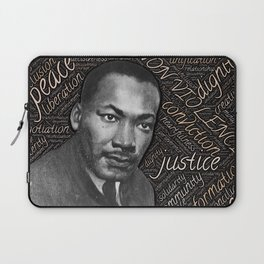martin luther king Laptop Sleeve