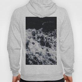 OCEAN - WAVES - SEA - ROCKS - DARK - WATER Hoody