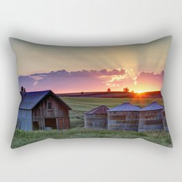 Home Town Sunset Rectangular Pillow