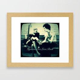 Hysteric Love Framed Art Print