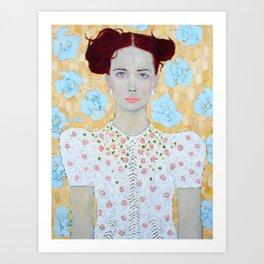 Janine Art Print