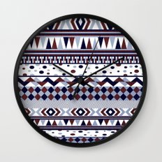 Tribal Vibe Wall Clock