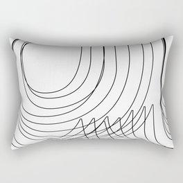 Helvetica Condensed 002 Rectangular Pillow
