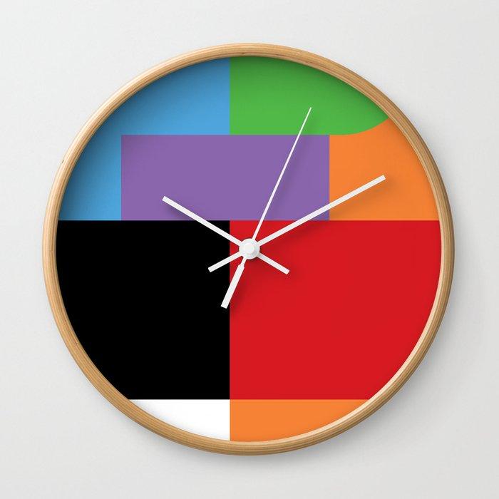 Frustration Wall Clock