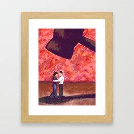 COURTING Framed Art Print