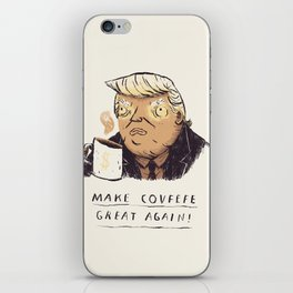 make covfefe great again! trump print iPhone Skin
