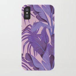 Tropical '17 - Starling [Banana Leaves] iPhone Case