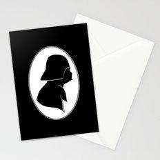 Dark Side Silhouette  Stationery Cards