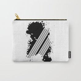 Tyre Tread Grunge Carry-All Pouch