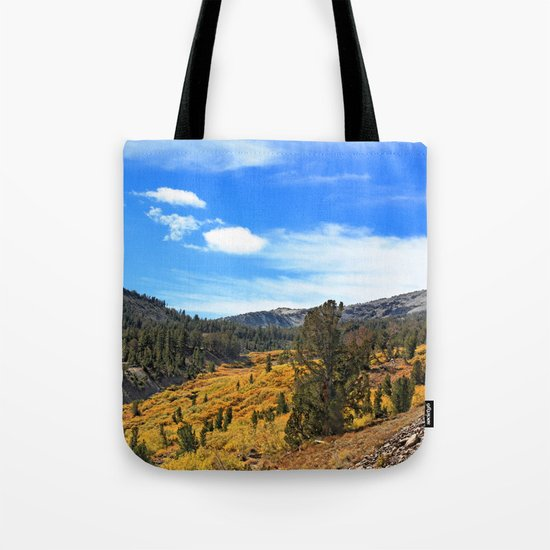 Mt Rose Tote Bag