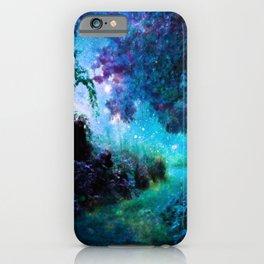Fantasy Garden Path Midnight iPhone Case