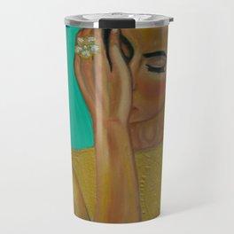 Anita - Golden Woman Travel Mug