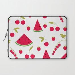 Pattern watermelon cherry raspberry currant Laptop Sleeve