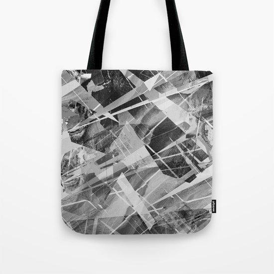 Marble X Tote Bag