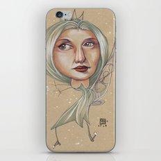 SNOWFLAKE QUEEN iPhone & iPod Skin