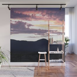 Sunset in the High Foothills Wall Mural