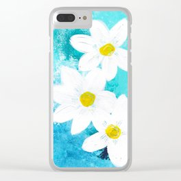 Springtime Clear iPhone Case