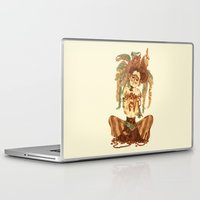 pirate Laptop & iPad Skins featuring Pirate by Fabio Mancini