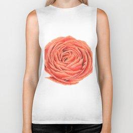 Rose. Big flower Biker Tank