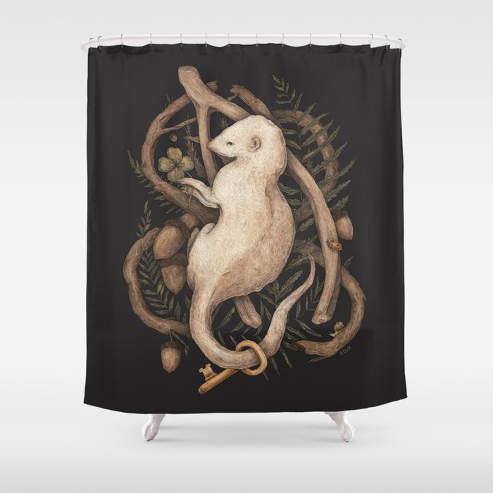Blessings Surround You Shower Curtain By Jessicaroux