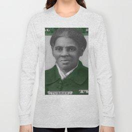 Proposed African American Icon Harriet Tubman Single U.S. Mint 20 Dollar bill Long Sleeve T-shirt