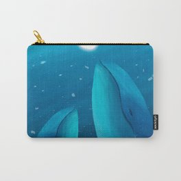 Lovely Dolphin Carry-All Pouch