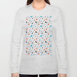 Naughty letters Long Sleeve T-shirt