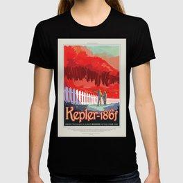 Kepler-186f - NASA Space Travel Poster T-shirt