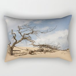 Windswept Tree Rectangular Pillow